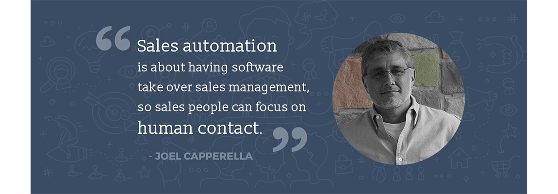 Sales automation quotes