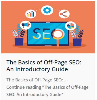 basics of Off-Page SEO