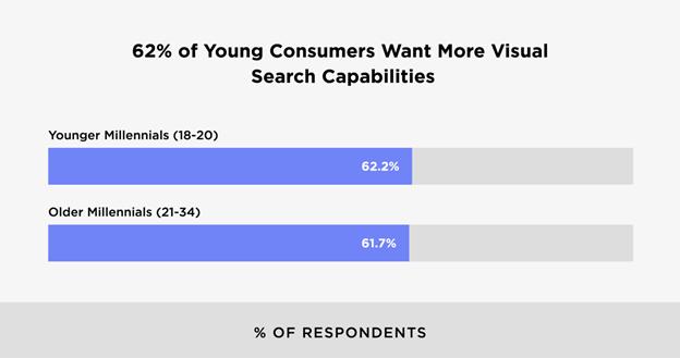 Visual search capabilities