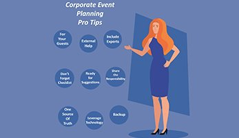 corporate event tips
